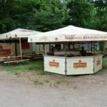 Bier- Pavillon in neuem Design oder Bierwagen.